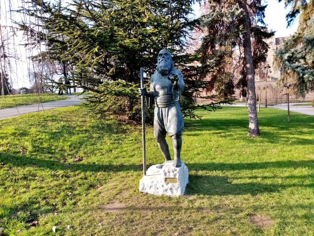 Skulptura Slepi guslar u Beogradu